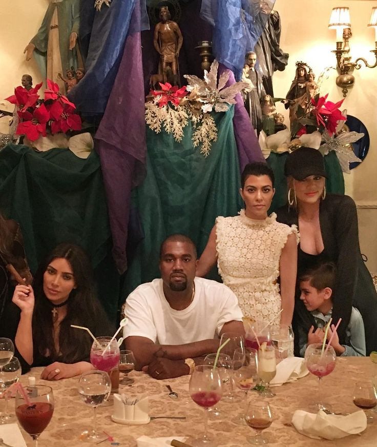 happy birthday Kanye...la familia wouldn't be the same without you.