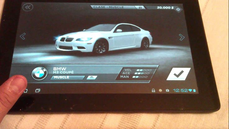 Need for speed most wanted , Asus transforme prime (+playlist)