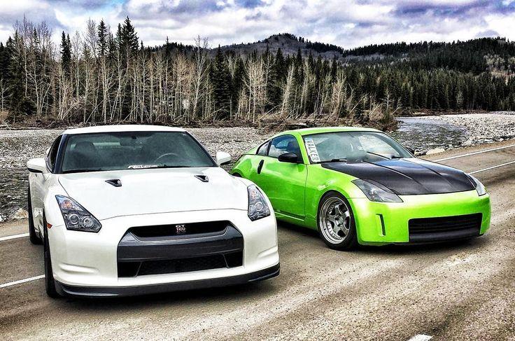 #Nissan #GTR #350Z : @da_greenmachine @jmagana35