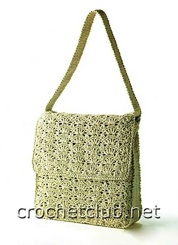 Crochet handbag - free pattern Сумочка крючком