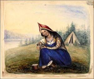 Mi'kmaq woman