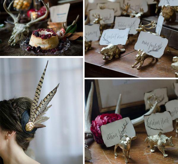 Wedding Trends | Woodsy Wedding Ideas via TahoeUnveiled.com featuring @asplendidoccas @nbfloralchicago @karissakreager @bridalmusings
