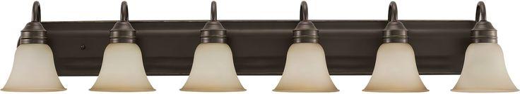 0-021796>Gladstone 6-Light Bath Vanity Heirloom Bronze
