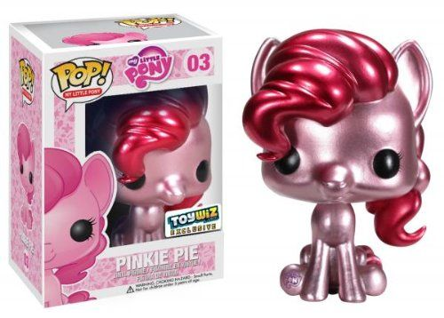 Amazon.com: Funko POP! My Little Pony Exclusive Vinyl Figure Metallic Pinkie Pie: Toys & Games