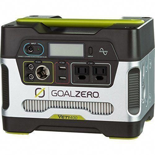 Goal Zero Yeti Solar Generator Solar Generator Solar Panels Best Solar Panels