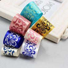 2015 Custom Design Colorful Satin Printed Ribbon Rolls With Logo