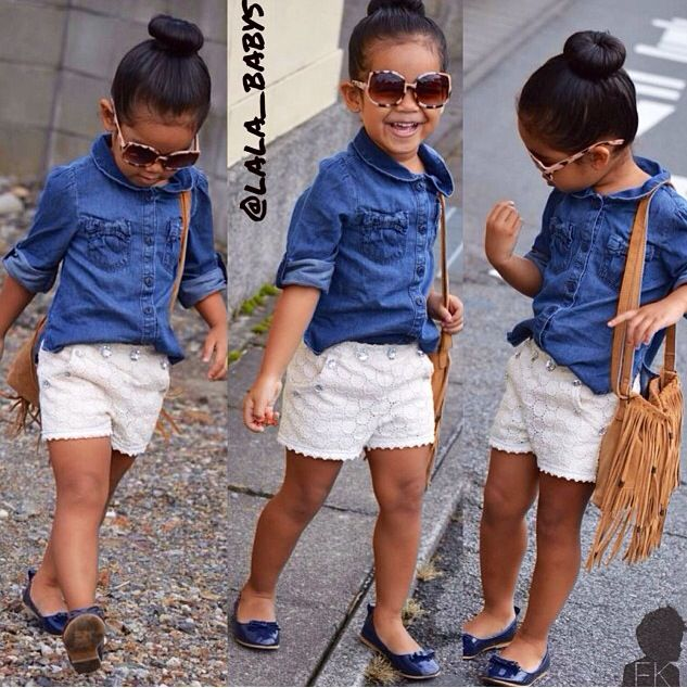 Great spring outfit for a little girl