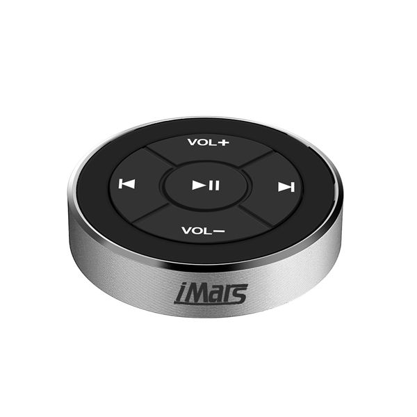 iMars™ BT-005 12M Car Bluetooth Media Button Series Remote Control Smartphone Audio Video Support IOS Bluetooth 3.0 Android OS 4.0