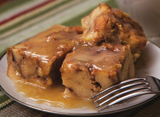 The best bread pudding recipe! I substituted heavy whipping cream for half of the milk.