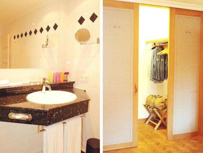 Hotel Bachmair Weissach Badezimmer