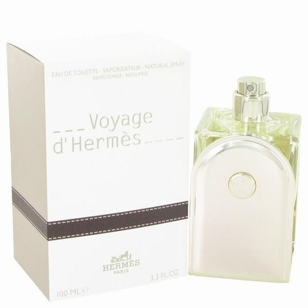Voyage D'Hermes by Hermes Eau De Toilette Spray Refillable 3.3 oz