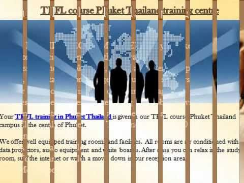 #EBC #TEFL course #Phuket #Thailand #program @ https://youtu.be/veoD2VvGli4