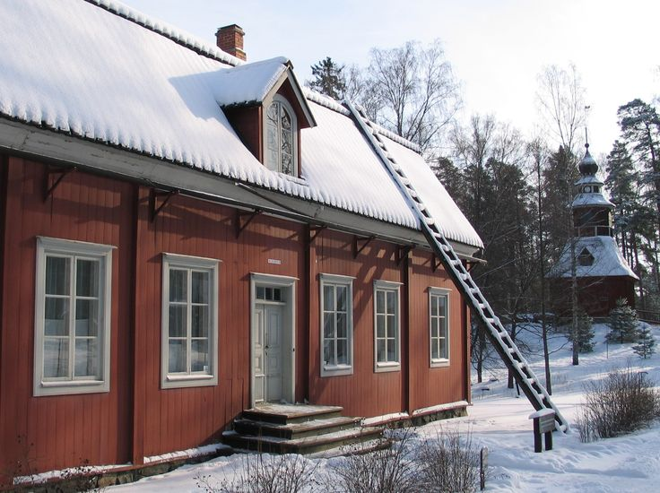 #Seurasaari #museum #winter #Finland #attraction