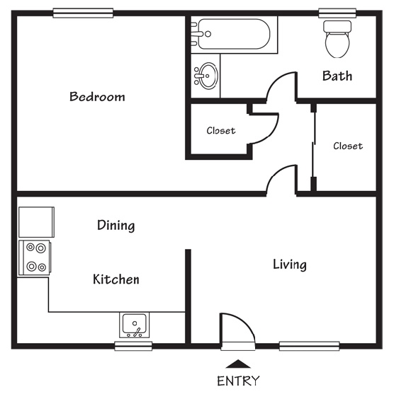 1000 images about small house floorplans on pinterest for 1 bedroom apartments in salt lake city