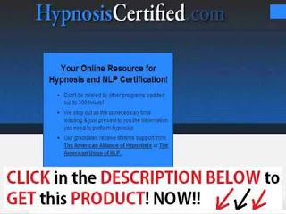 Online Shopping: Hypnosis & NLP Certification Courses!