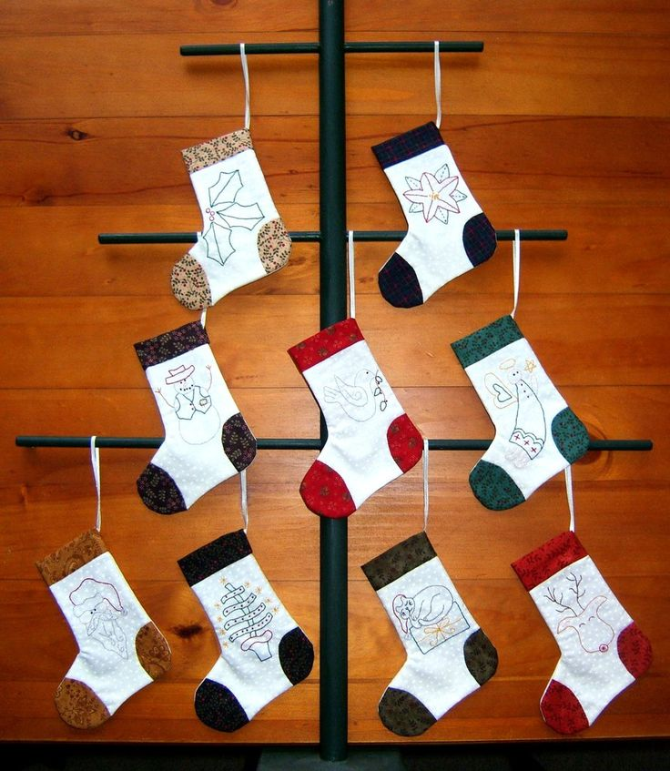 Christmas Stockings – Tracey Roberts Designs