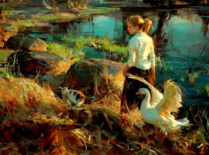 Daniel Gerhartz #painting #Art pls visit us https://www.facebook.com/skalapeter7 ♡