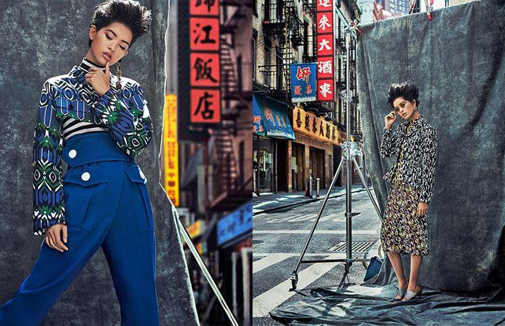 "Grazia Italy Editorial ""Little China girl"" shot by the fashion photographer Xavi Gordo represented by 8AM -  8 Artist Management 05 | #artistmangement #fashion #editorial #8artistmanagement #xavigordo #grazia #graziaitaly ★★ 8AM / 8 Artist Management ★★  more photos in http://8artistmanagement.com/"