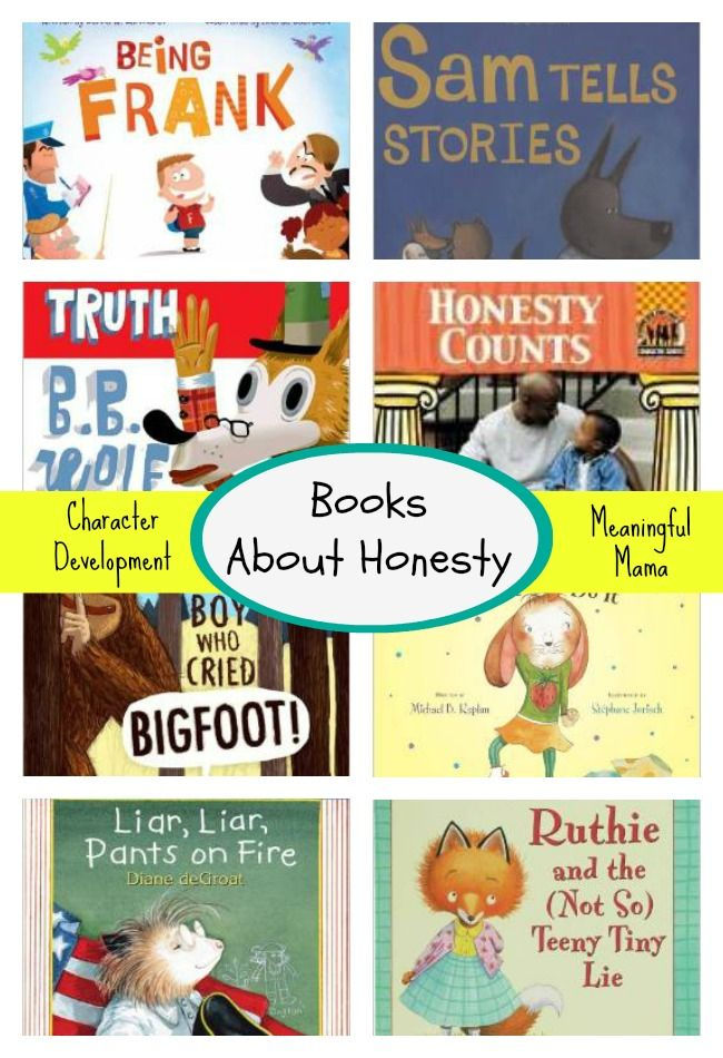 These books about honesty is perfect for kids.  Themes like character and telling the truth offer easy ways to talk to kids about these sometimes tough topics.