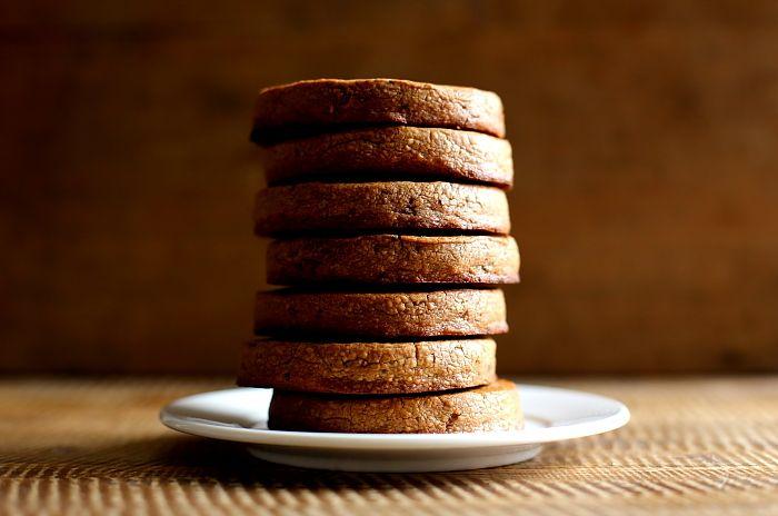maślane ciastka z czekoladą