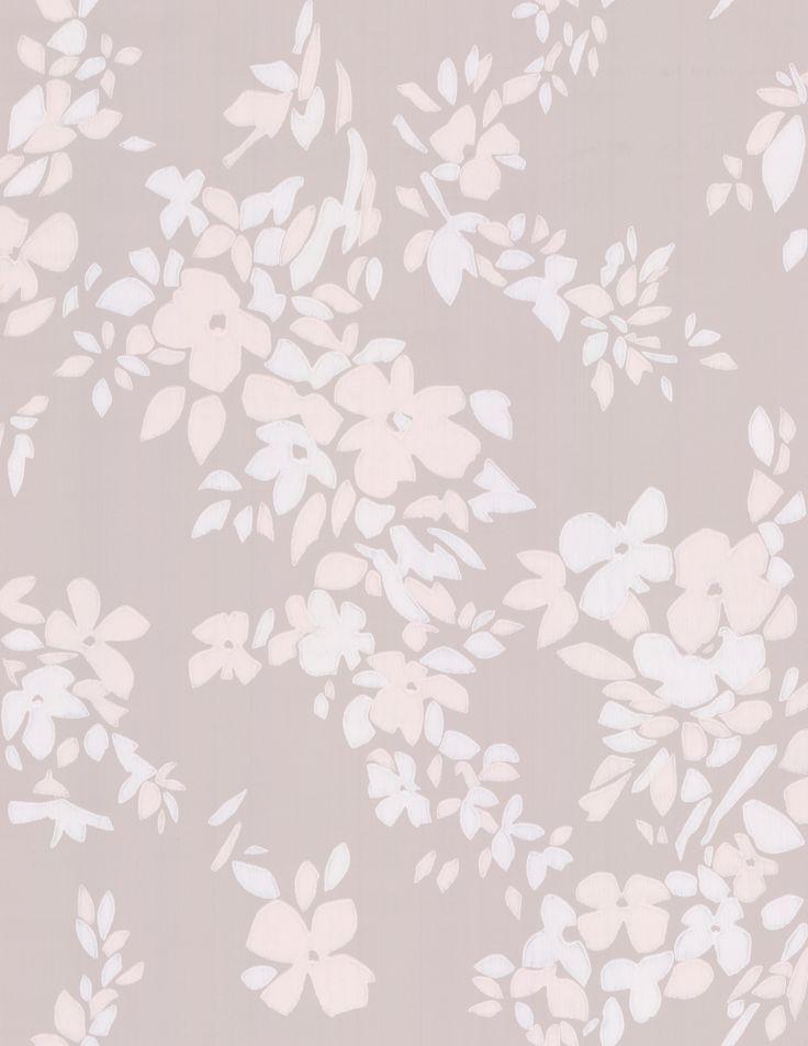 Farrow & Ball Hegemone Shell Pink Wallpaper main image