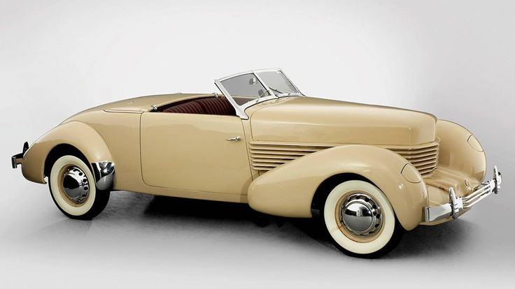 Cord cars. Manufactured 1936 & 1937.