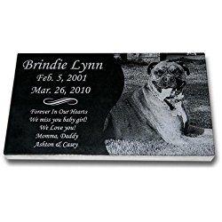 Dog Grave Marker - Pet headstones - Pet Gravestones - Pet Memorials
