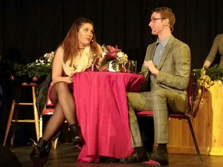 """Fall in love with """"First Date: A Musical Comedy"""". By Sam Tweedle. Premiere production from Amber Coast Theatrical runs until December 11 at the Gordon Best in Peterborough."""