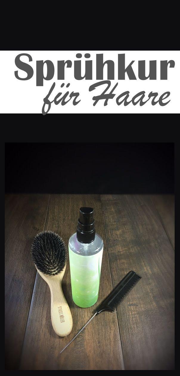 Aloe-Vera Sprühkur. Für bessere Kämmbarkeit der Haare. Ohne Auswaschen.