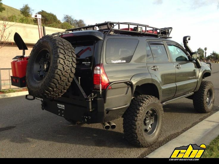 4Runner Off Road | custom-front-and-rear-toyota-4runner-4th-gen-bumpers-by-cbi-offroad ...
