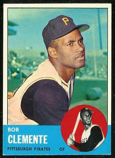 clemente baseball cards | ... 540 Roberto Clemente [#d] SCARCE HIGH SERIES (Pirates) Baseball card
