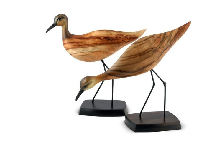 Sandpipers | Australian Woodwork - FREE Gift Wrapping - FREE Handwritten Gift Card - Fast Same Day Shipping - FREE Shipping for orders over $100 - Our usual Money Back Quality Guarantee!