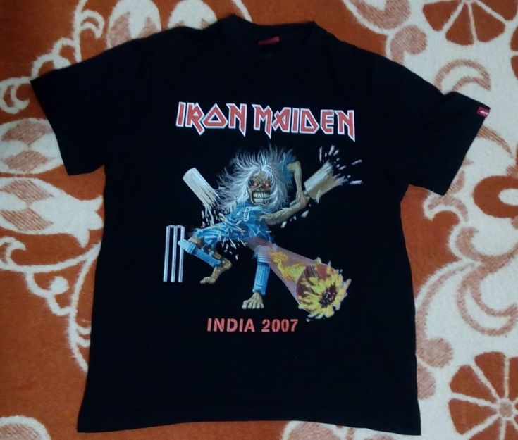 Iron Maiden matter of life and death tour India 2007 RaRe vtg NWBH Judas Priest  #Levis #GraphicTee