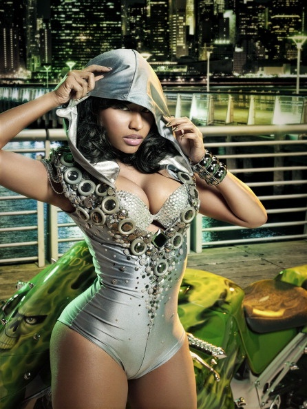 Nicki Minaj ... totallly fake but we still love it
