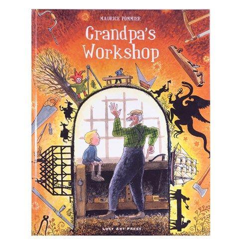 """Grandpa's Workshop"" By Maurice Pommier"