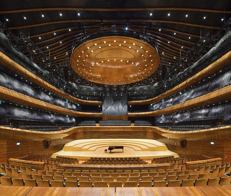 The Seat of the National Polish Radio Symphony Orchestra (NOSPR)   Katowice   Poland   Wood in Architecture 2014   WAN Awards