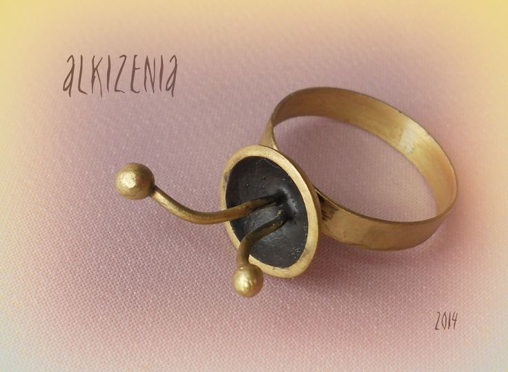 Handmade metal ring