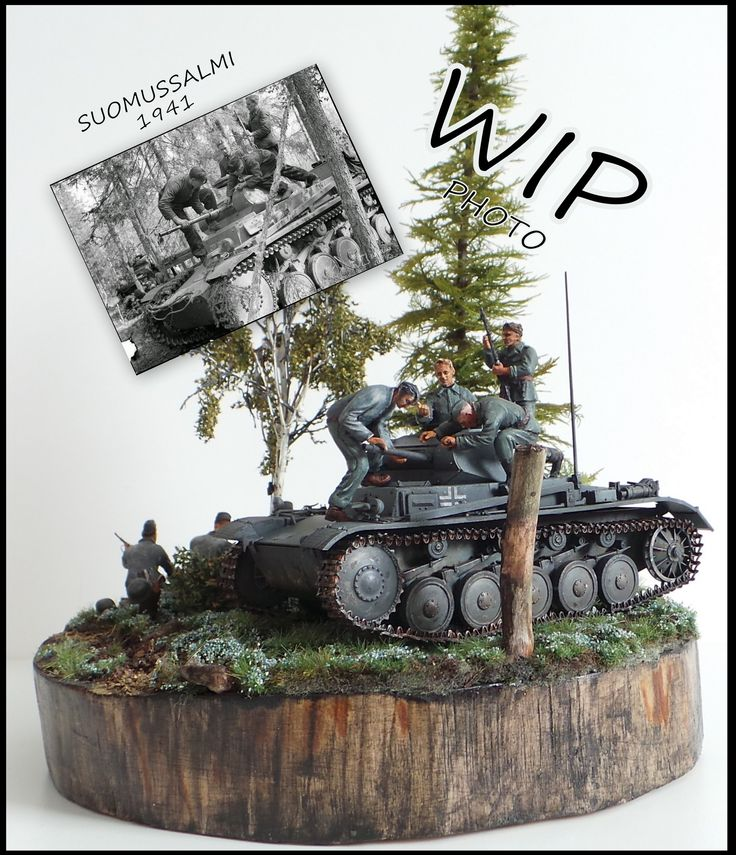 Coming soon :Suomussalmi 1941  Still some weathering, wares ,etc...... http://makingscalemodels.blogspot.fi/ #scalemodels #dioramas #panzer # tanks #ww2 #makingscalemodels
