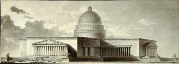 Jean-Jacques Lequeu (1757-1826).