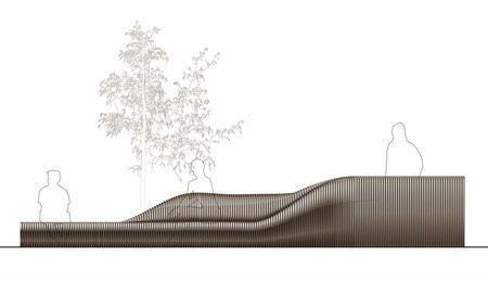 Arch2o Parametric Urban Street Furniture for Hong Kong -6