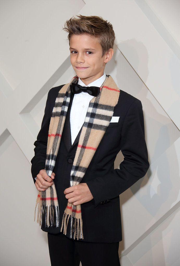 Celebrity Gossip, Entertainment News & Celebrity News | Romeo Beckham Outshines His Famous Parents on the Red Carpet | POPSUGAR Celebrity