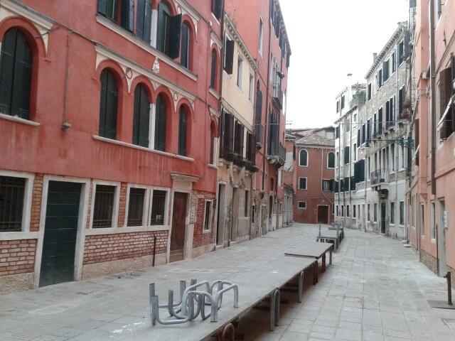 Venezia, da qualche parte vicino a Palazzo Grassi