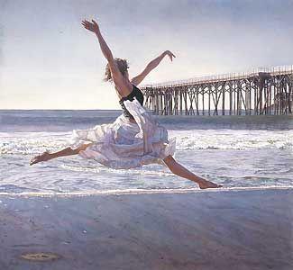 To Dance Before the Sea and Sky - Steve Hanks - World-Wide-Art.com - $695.00