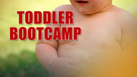 In the fight against childhood obesity a boot camp for toddlers is being rolled out in childcare centres, hoping to inspire preschoolers to exercise.