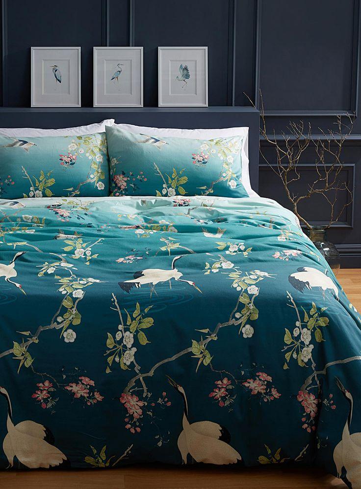 Oriental garden duvet cover set | Vandyck | Shop Duvet Covers online | Simons