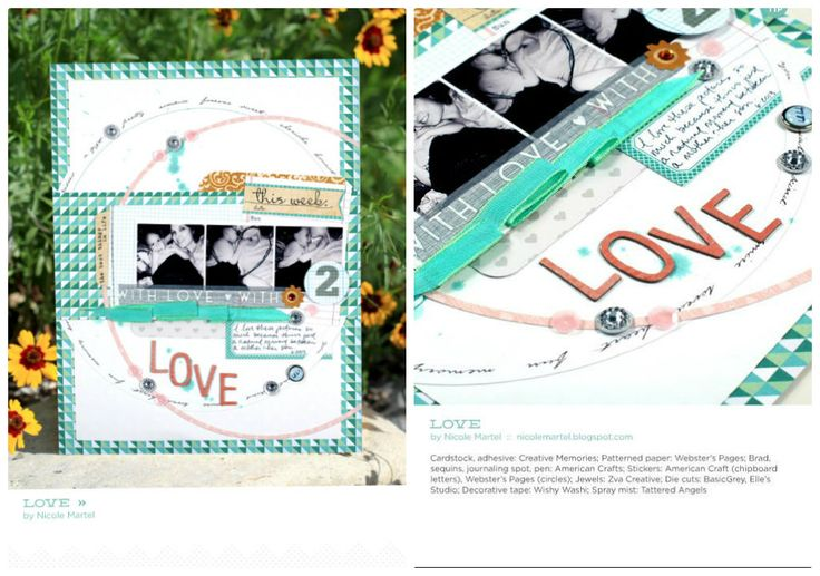 love_published in Scrapbook Trends_JANUARY 2014