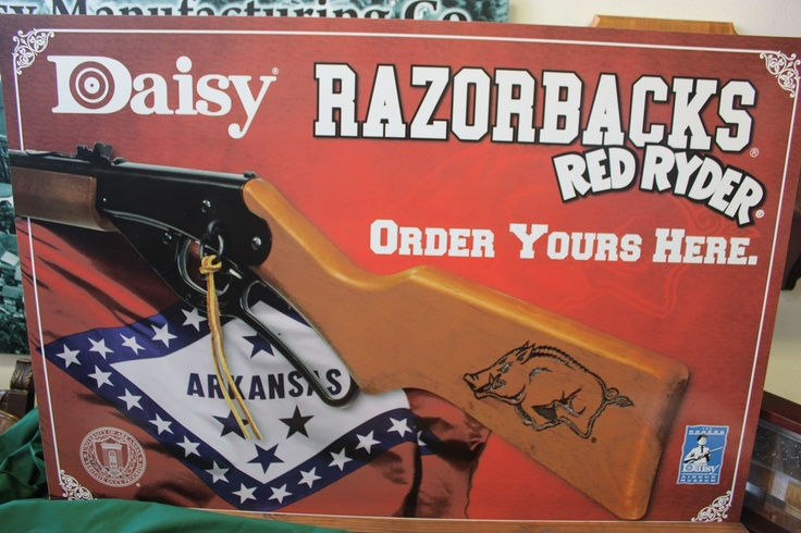 Arkansas Razorbacks Red Ryder