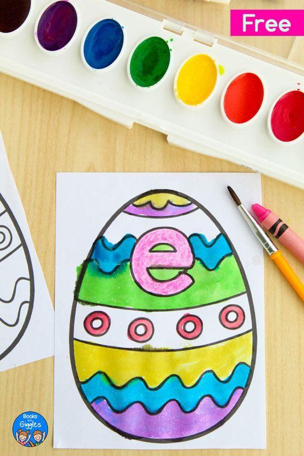 Easter Crafts For Kids Sponge Painted Easter Egg Basket Buggy And Buddy Easter Crafts Preschool Easter Crafts For Kids Easter Crafts Christian