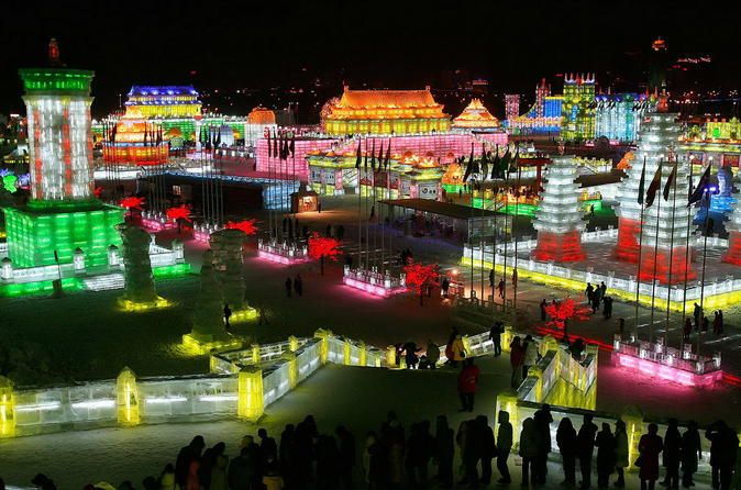 Seasonal Offer: Longqing Gorge Ice Lantern Festival with Mongolian Hot Pot Dinner  If you happen to be in Beijing between January 10th to February 28, 2017, you certainly don't want to miss this wonderful seasonal activity! This exciting evening tour will take you to Longqing Gorge Ice Lantern Festival event in Yanqing county where isone of the 2022 Winter Olympic games competition zones (there are 3 competition zones in Beijing). This makes Beijing the first city to host bot...
