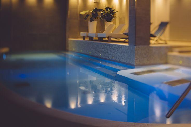 Swimming pool salt water
